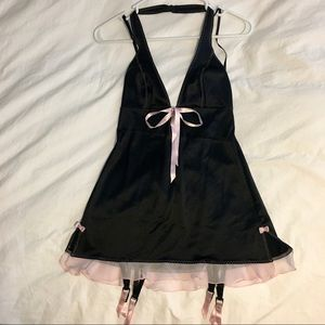 Small black babydoll